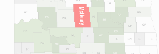 McHenry County Map